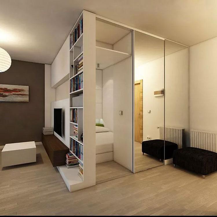что большой шкаф в однокомнатной квартире фото тяги происходит том